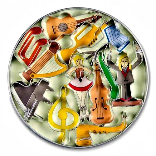 Cake Design Strumenti Musicali : Tagliapasta For cake designer - Accessori per il cake design